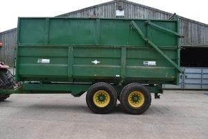 MAS Ace 12 Ton Grain & Silage Trailer SR024